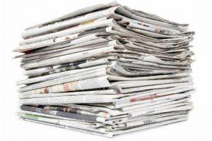 کاغذ روزنامه در تولید کاغذ